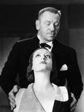 Grand Hotel, Wallace Beery (Top), Joan Crawford, 1932 Photo
