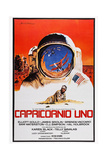 Capricorn One, (AKA Capricornio Uno), Spanish Language Poster Art, James Brolin, 1978 Giclee Print
