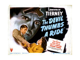 The Devil Thumbs a Ride, Lawrence Tierney, Nan Leslie, 1947 Giclee Print