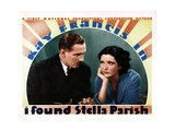 I Found Stella Parish, from Left, Paul Lukas, Kay Francis, 1935 Giclee Print