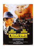 Chinatown, French Poster Art, Fom Left: Jack Nicholson, Faye Dunaway, 1974 Giclee Print