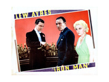 Iron Man, from Left: Lew Ayres, Robert Armstrong, Jean Harlow, 1931 Giclee Print