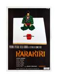 Harakiri, (AKA Seppuku), Italian Poster, Tatsuya Nakadai, 1962 Giclee Print