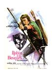 The Adventures of Robin Hood, Olivia De Havilland, Errol Flynn, 1938 Giclee Print