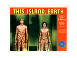 This Island Earth, from Left: Rex Reason, Faith Domergue, 1955 Giclee Print