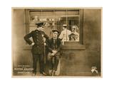 Hard Luck, Buster Keaton (Sitting), 1921 Giclee Print