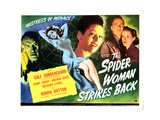 The Spider Woman Strikes Back, 1946 Giclee Print