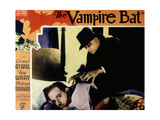 The Vampire Bat, from Left, Melvyn Douglas, Lionel Atwill, 1933 Giclee Print