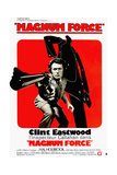 Magnum Force, Clint Eastwood on French Poster Art, 1973 Giclee Print