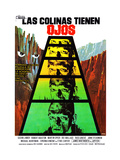 The Hills Have Eyes, (AKA Las Colinas Tienen Ojos), Spanish Poster, Michael Berryman, 1977 Giclee Print