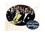 Now, Voyager, from Left, Paul Henreid, Bette Davis, John Loder, 1942 Giclee Print