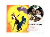 Cabin in the Sky, Eddie (Rochester) Anderson, Lena Horne, 1943 Giclee Print