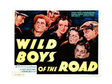 Wild Boys of the Road, Edwin Phillips, Frankie Darro, Dorothy Coonan, 1933 Giclee Print