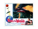 The War of the Worlds, Gene Barry, Anne Robinson, 1953 Giclee Print