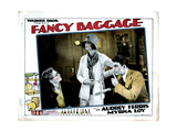 Fancy Baggage, from Left, Audrey Ferris, Myrna Loy, Hallam Cooley, 1929 Giclee Print