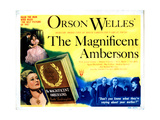 The Magnificent Ambersons, 1942 Giclee Print