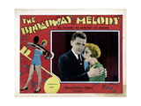 The Broadway Melody, from Left, Charles King, Bessie Love, 1929 Giclee Print