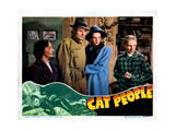 Cat People, Center Giclee Print