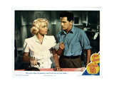 The Postman Always Rings Twice, Lana Turner, John Garfield, 1946 Giclee Print