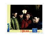 The Third Man, (AKA the 3rd Man), from Left, Trevor Howard, Alida Valli, Joseph Cotten, 1949 Giclee Print