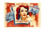 Mildred Pierce, Joan Crawford, Ann Blyth, 1945 Giclee Print