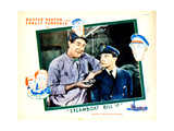 Steamboat Bill, Jr., from Left: Ernest Torrence, Buster Keaton, 1928 Giclee Print