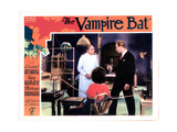 The Vampire Bat, from Left, Lionel Atwill, Fay Wray, Melvyn Douglas, 1933 Giclee Print