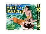Bird of Paradise, from Left: Dolores Del Rio, Joel Mccrea, 1932 Giclee Print