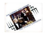 The Animal Kingdom, from Left, Henry Stephenson, Leslie Howard, Ann Harding, 1932 Giclee Print