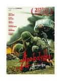 Apocalypse Now, (AKA Apocalypsa), Czech Republic Poster Art, 1979 Gicléedruk