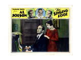 The Singing Fool, from Left, Al Jolson, Betty Bronson, 1928 Giclee Print