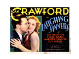 Laughing Sinners, from Left, Neil Hamilton, Joan Crawford, 1931 Giclee Print