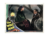 The Wolf Man, from Left, Maria Ouspenskaya, Claude Rains, 1941 Giclee Print