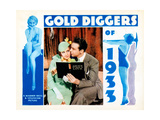 Gold Diggers of 1933, from Left, Ruby Keeler, Dick Powell, 1933 Giclée-tryk