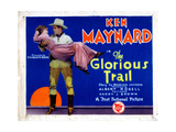 The Glorious Trail, Ken Maynard, Holding Gladys Mcconnell, 1928 Giclee Print