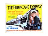 The Hurricane Express, Shirley Grey, John Wayne, 1932 Impression giclée