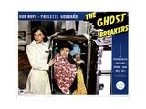 The Ghost Breakers, from Left, Paulette Goddard, Bob Hope, 1940 Giclee Print