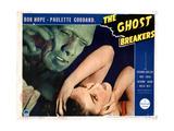 The Ghost Breakers, from Left, Noble Johnson, Paulette Goddard, 1940 Giclee Print