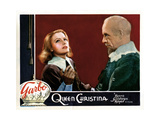 Queen Christina, from Left, Greta Garbo, Lewis Stone, 1933 Giclee Print