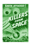 Killers from Space, Peter Graves, Barbara Bestar, 1954 Giclee Print