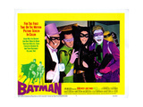 Batman, Burgess Meredith, Frank Gorshin, Lee Meriwether, Cesar Romero Giclee Print