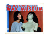 Mystery of the Wax Museum, Joan Gale, with Her Wax Effigy, 1933 Giclee Print