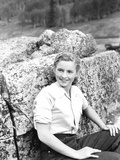 Sand, Coleen Gray, 1949 Photo