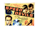 Speed Devils, from Left, Russell Hardie, Marguerite Churchill, Paul Kelly, 1935 Giclee Print