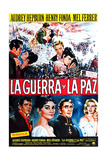 War and Peace, (AKA La Guerra Y La Paz), 1956 Giclee Print