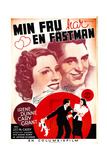 The Awful Truth, (AKA Min Fru Har En Fastman), 1937 Giclee Print