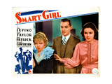Smart Girl, from Left, Ida Lupino, Kent Taylor, Gail Patrick, 1935 Giclee Print
