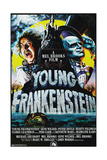Young Frankenstein, from Left: Gene Wilder, Peter Boyle, 1974 Giclee Print
