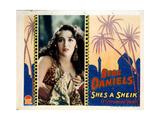 She's a Sheik, Bebe Daniels, 1927 Giclee Print