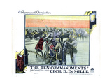 The Ten Commandments, 1923 Giclee Print